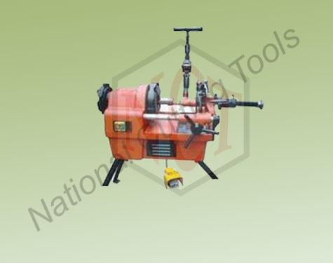 Portable pipe & bolt threading machine